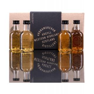 Ardnamurchan Whisky Tasting Pack 4x5cl.