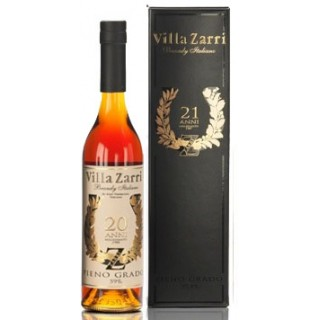Villa Zarri - Brandy Pieno Grado 20 Anni 50 cl. (1988)