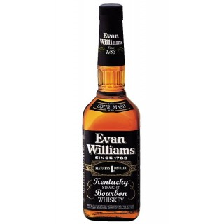 Evan Williams - Bourbon Whiskey Black Label 70 cl. (S.A.)