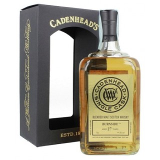Burnside - Blended Whisky (Cadenhead's) 27 Anni 70 cl. (1991)