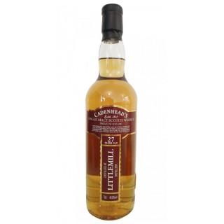 Littlemill - Whisky (Cadenhead's) 27 Anni 70 cl. (1992)