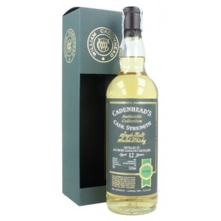 Aultmore - Whisky (Cadenhead's) 12 Anni 70 cl. (2006)