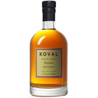 KOVAL - Bourbon Whiskey Single Barrel 50 cl. (S.A.)