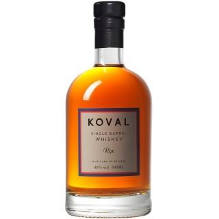 KOVAL - Rye Whiskey Single Barrel 50 cl. (S.A.)