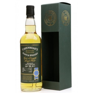 Caol Ila - Whisky (Cadenhead's) 20 Anni 70 cl. (1995)