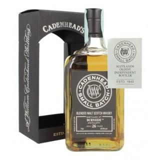 Burnside - Blended Whisky (Cadenhead's) 26 Anni 70 cl. (1989)