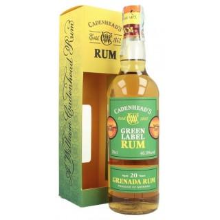 Cadenhead's - Grenada GMWE Rum 20 Anni 70 cl. (S.A.)