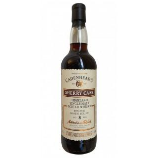 Ben Nevis - Whisky (Cadenhead's) 8 Anni 70 cl. (2012)