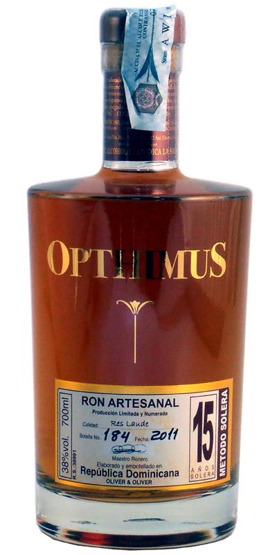 Rum Opthimus 15 Anni 70 cl.