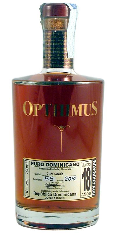 Rum Opthimus 18 Anni 70 cl.