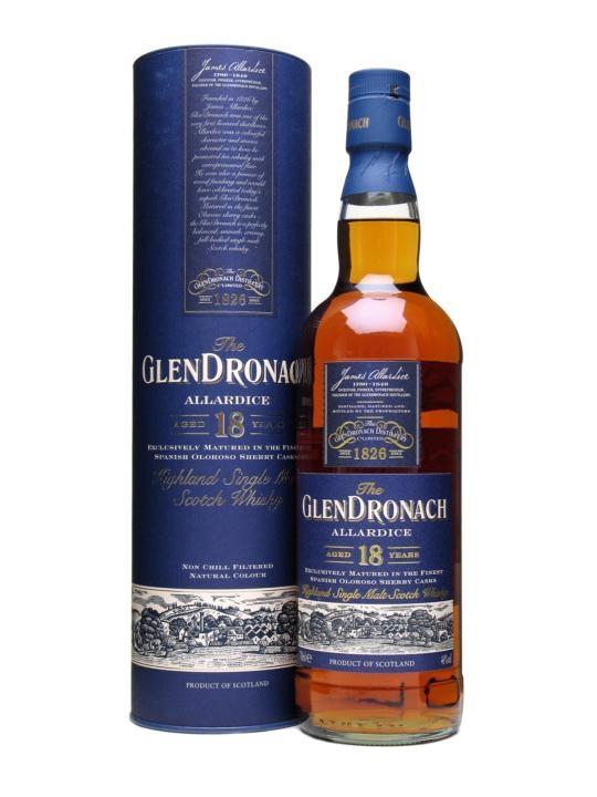 Whisky 18 Anni Allardice 70 cl.