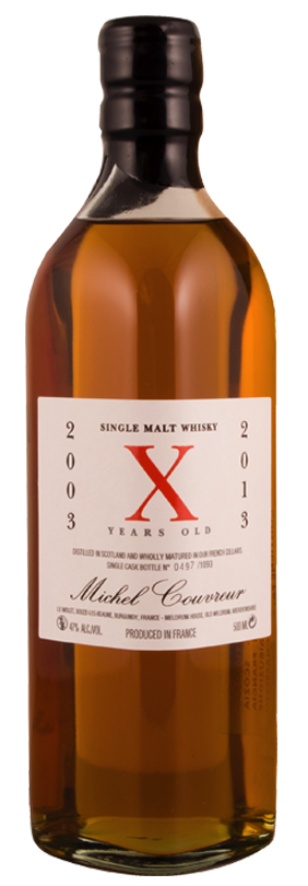 Whisky 2003 X 2013 10 Anni 50 cl.