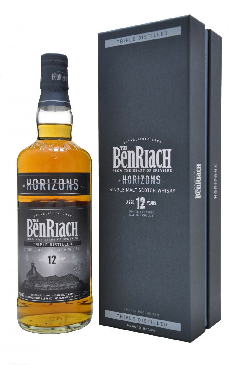 Whisky 12 Anni Triple Distilled Horizons 70 cl.