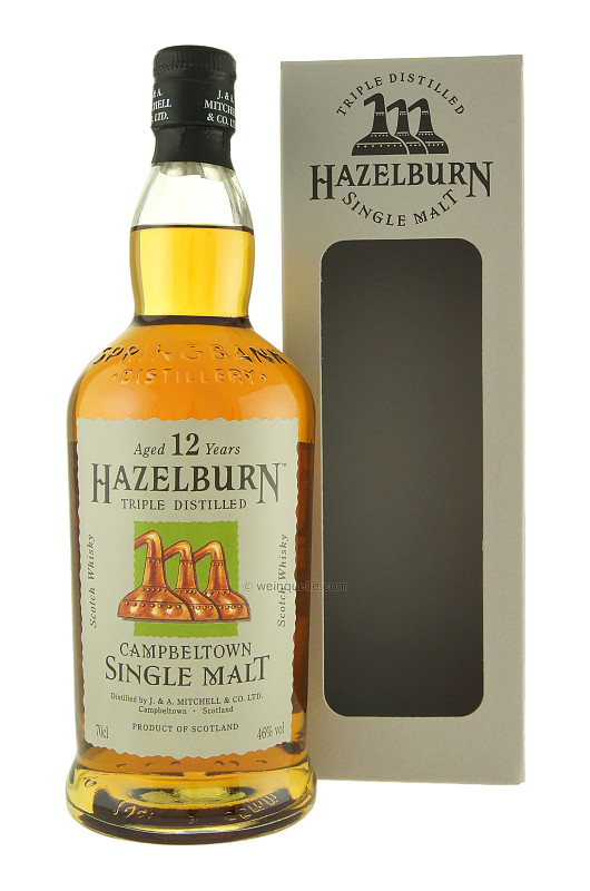 Whisky 12 Anni Triple Distilled 70 cl.