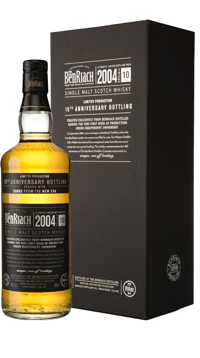 Whisky 10 Anni Anniversary Edition 70 cl.