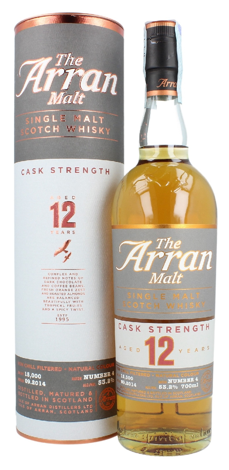 Whisky 12 Anni Cask Strenght Batch 4 70 cl.