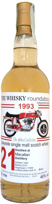 Whisky 21 Anni Roundabout 70 cl.