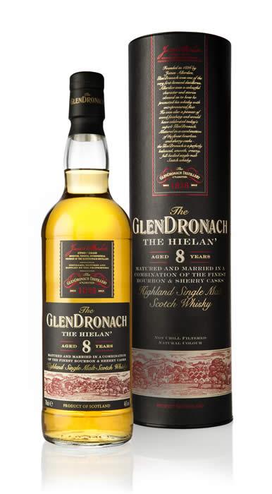 Whisky 8 Anni Hielan 70 cl.