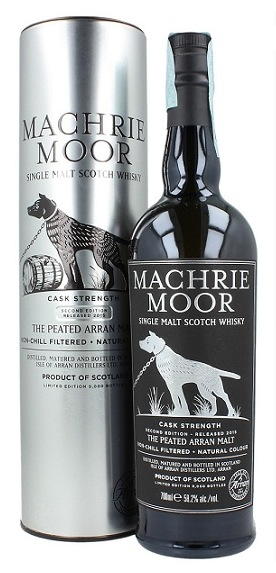 Whisky Machrie Moor Cask Strength 2th Edition 70 cl.
