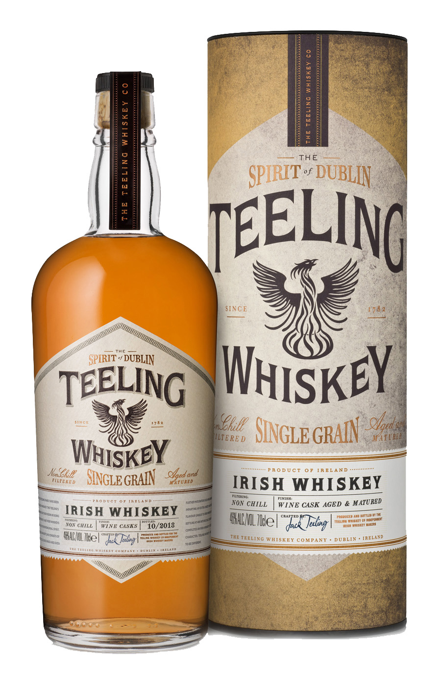 Single Grain Whiskey 70 cl.