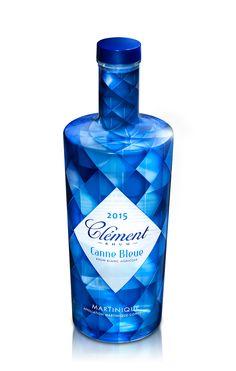 Rum Blanc Canne Bleue 70 cl.