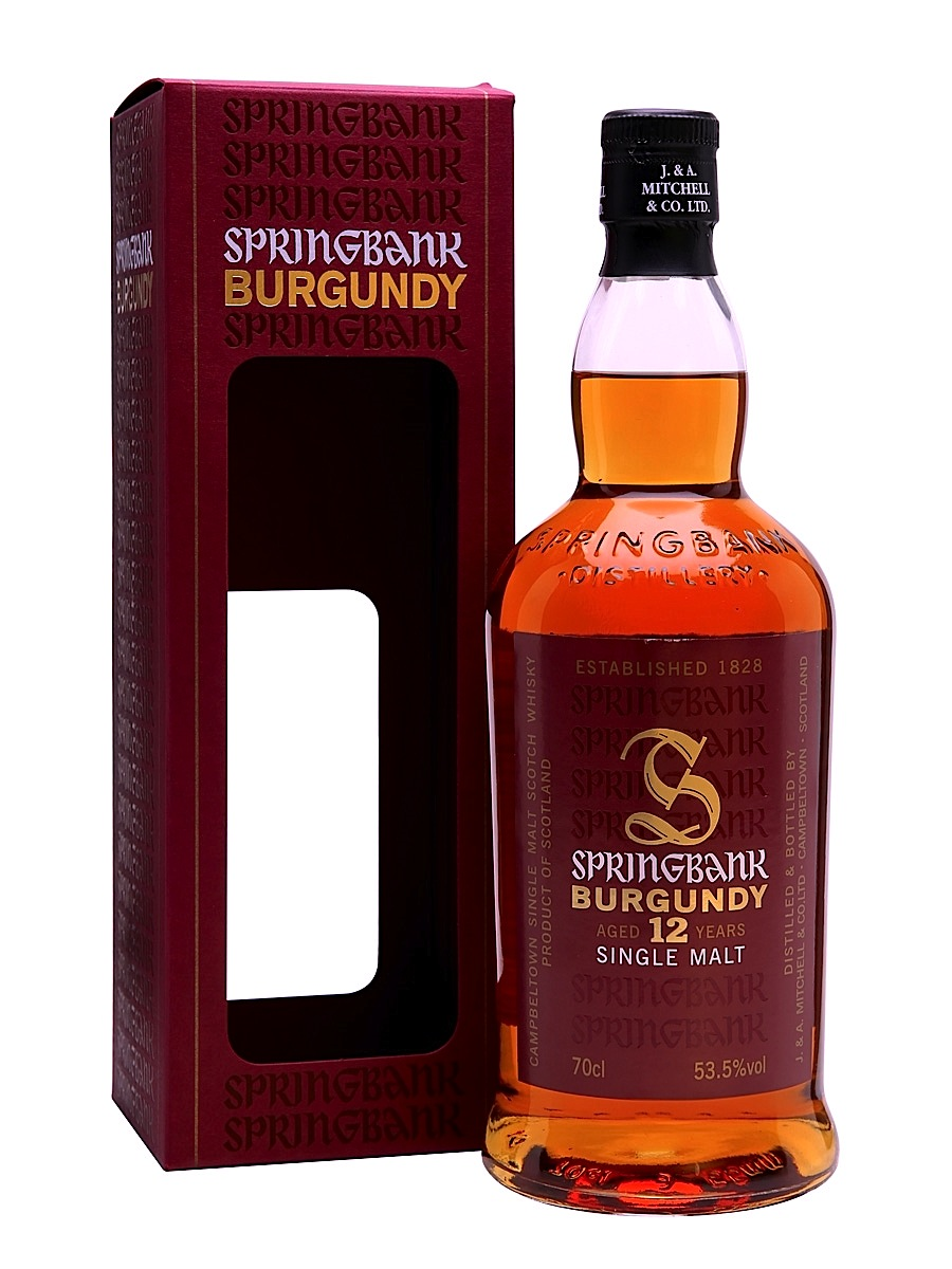 Whisky Burgundy 12 Anni 70 cl.