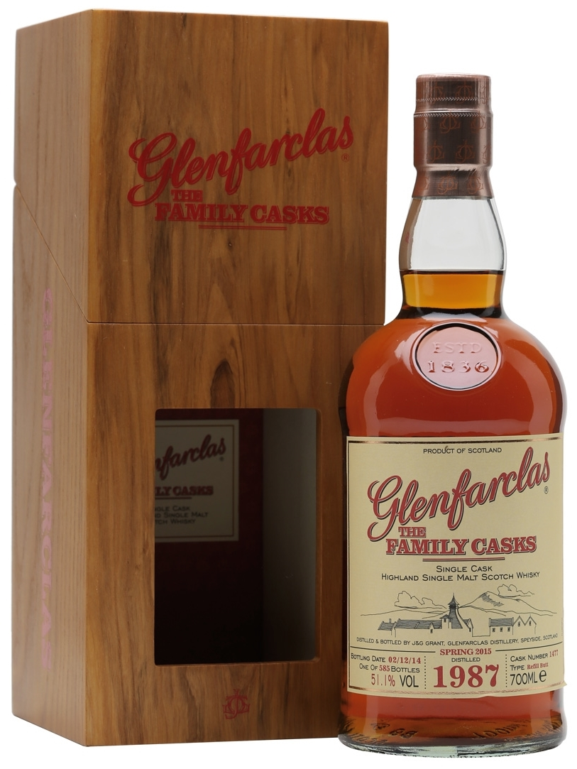 Whisky Family Cask 70 cl.