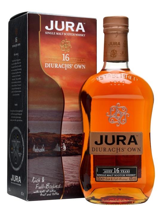 Whisky 16 Anni Diurachs Own 70 cl.
